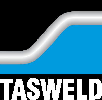 TASWELD LOGO WHITE